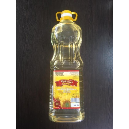 Organic sunflower oil «Kuban amber» - фото - 2